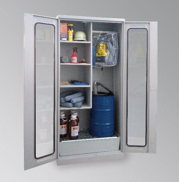 fass schrank f r kleingebinde bbtec stahlschrank discount. Black Bedroom Furniture Sets. Home Design Ideas