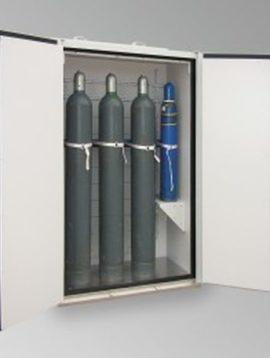 Sicherheitsschrank für Gasflaschen